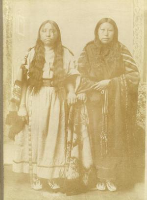 Primary view of object titled 'Ella Standler, Arapaho Indian'.