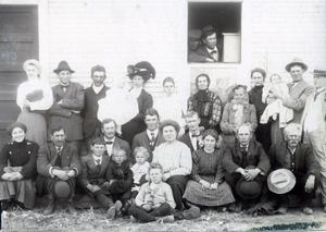 Primary view of object titled 'Dan Campbell and Family'.