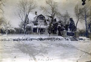 Primary view of object titled 'W. E. Halsell Home in Vinita, Oklahoma'.
