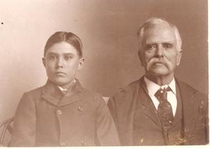 Primary view of object titled 'Choctaw Governor Wilson Jones and Grandson'.