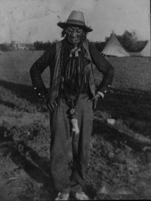 Primary view of object titled 'Burnt All Over, Cheyenne Indian'.