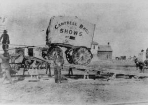 Primary view of object titled 'Campbell Brothers Circus.'.