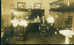 Primary view of object titled 'Barber Shop'.