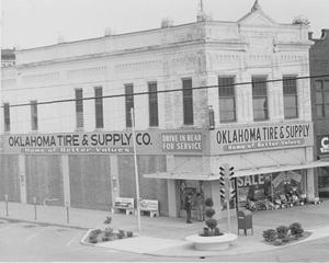 Primary view of object titled 'Oklahoma Tire and Supply Building, Enid'.