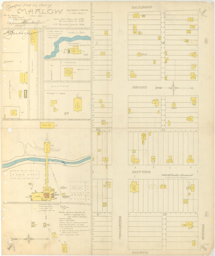 Marlow 1898 The Gateway To Oklahoma History