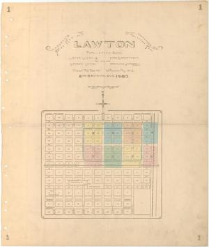 Primary view of object titled 'Lawton, 1903'.