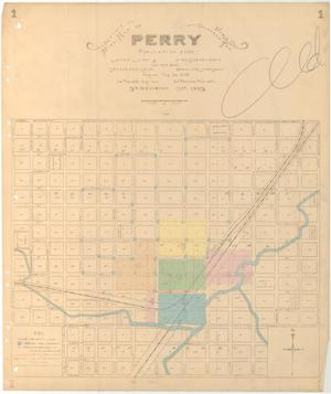 Primary view of object titled 'Perry, 1903'.