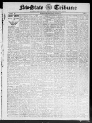 Primary view of object titled 'New-State Tribune (Oklahoma City, Okla.), Vol. 16, No. 13, Ed. 1 Thursday, January 20, 1910'.