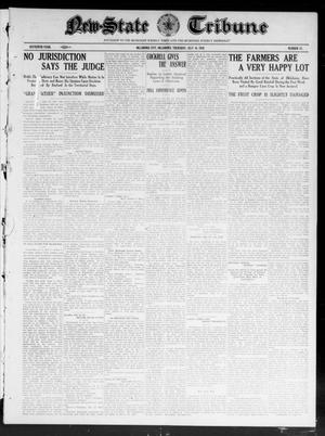 Primary view of object titled 'New-State Tribune (Oklahoma City, Okla.), Vol. 16, No. 37, Ed. 1 Thursday, July 14, 1910'.