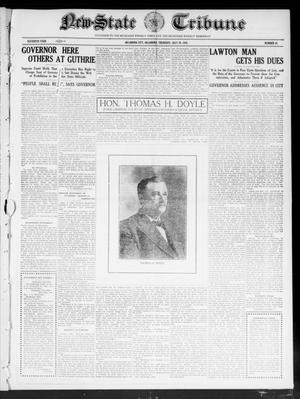 Primary view of object titled 'New-State Tribune (Oklahoma City, Okla.), Vol. 16, No. 39, Ed. 1 Thursday, July 28, 1910'.