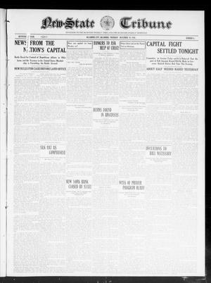 Primary view of object titled 'New-State Tribune (Oklahoma City, Okla.), Vol. 17, No. 8, Ed. 1 Thursday, December 29, 1910'.