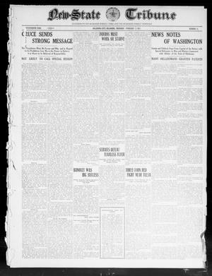 Primary view of object titled 'New-State Tribune (Oklahoma City, Okla.), Vol. 17, No. 13, Ed. 1 Thursday, February 2, 1911'.