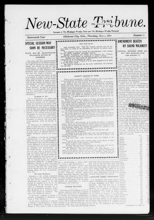 Primary view of object titled 'New-State Tribune. (Oklahoma City, Okla.), Vol. 17, No. 23, Ed. 1 Thursday, May 4, 1911'.