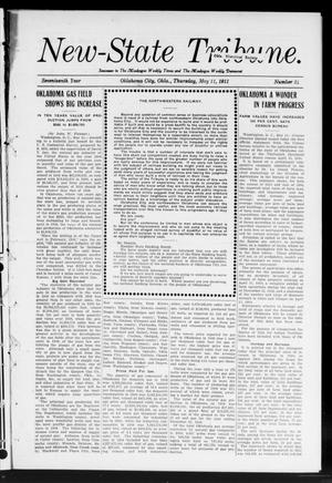 Primary view of object titled 'New-State Tribune. (Oklahoma City, Okla.), Vol. 17, No. 24, Ed. 1 Thursday, May 11, 1911'.