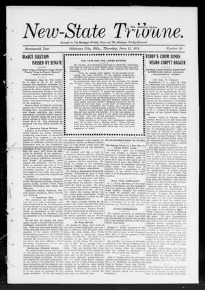 Primary view of object titled 'New-State Tribune. (Oklahoma City, Okla.), Vol. 17, No. 29, Ed. 1 Thursday, June 15, 1911'.