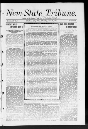 Primary view of object titled 'New-State Tribune. (Oklahoma City, Okla.), Vol. 17, No. 31, Ed. 1 Thursday, June 29, 1911'.
