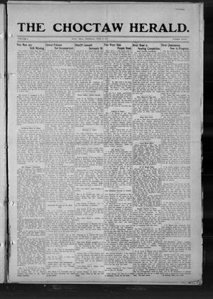 Primary view of object titled 'The Choctaw Herald. (Hugo, Okla.), Vol. 8, No. 7, Ed. 1 Thursday, June 19, 1913'.