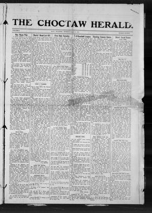 Primary view of The Choctaw Herald. (Hugo, Okla.), Vol. 8, No. 16, Ed. 1 Thursday, August 21, 1913