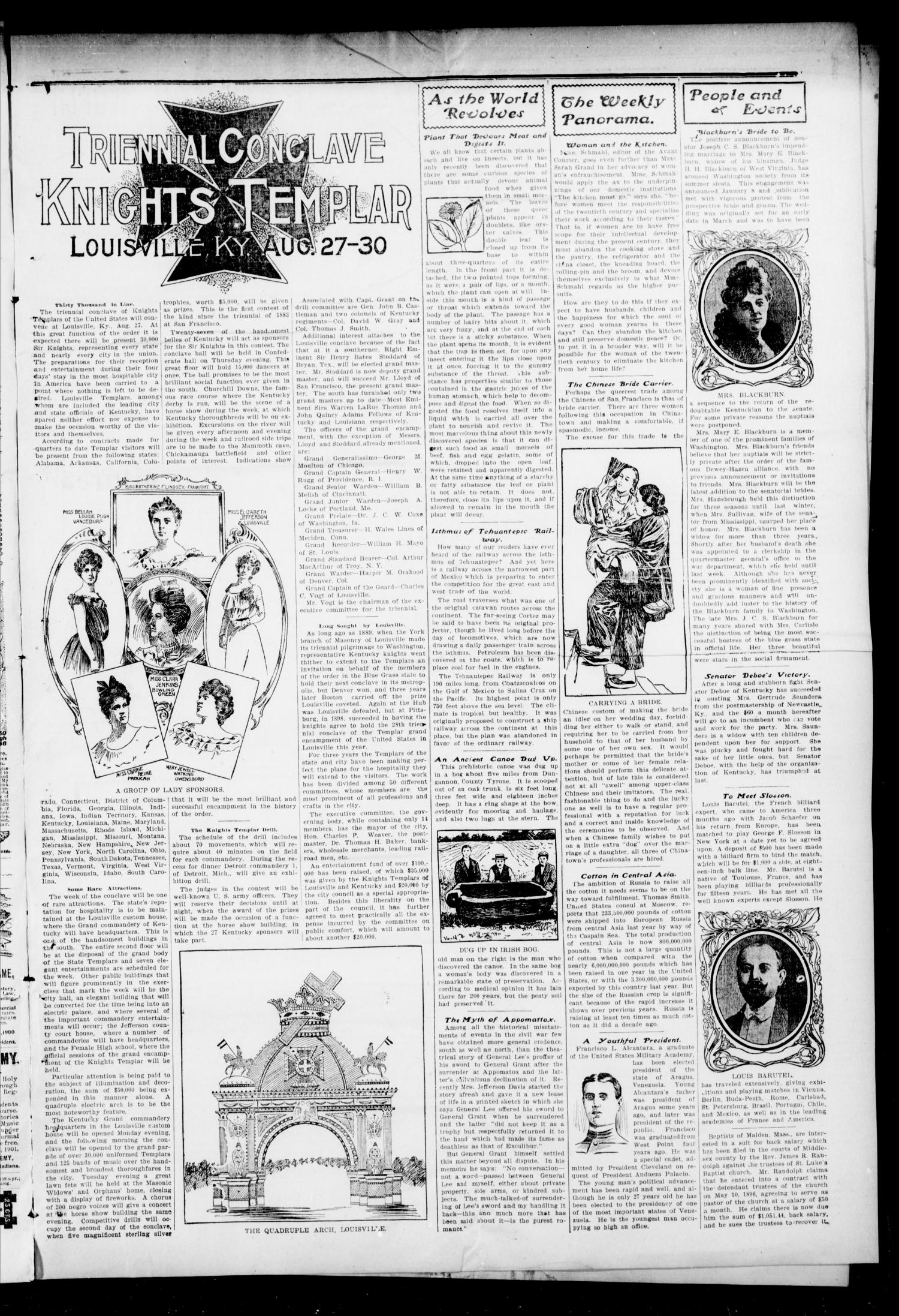 The Press-Democrat. (Hennessey, Okla.), Vol. 9, No. 47, Ed. 1 Friday, August 23, 1901                                                                                                      [Sequence #]: 3 of 8