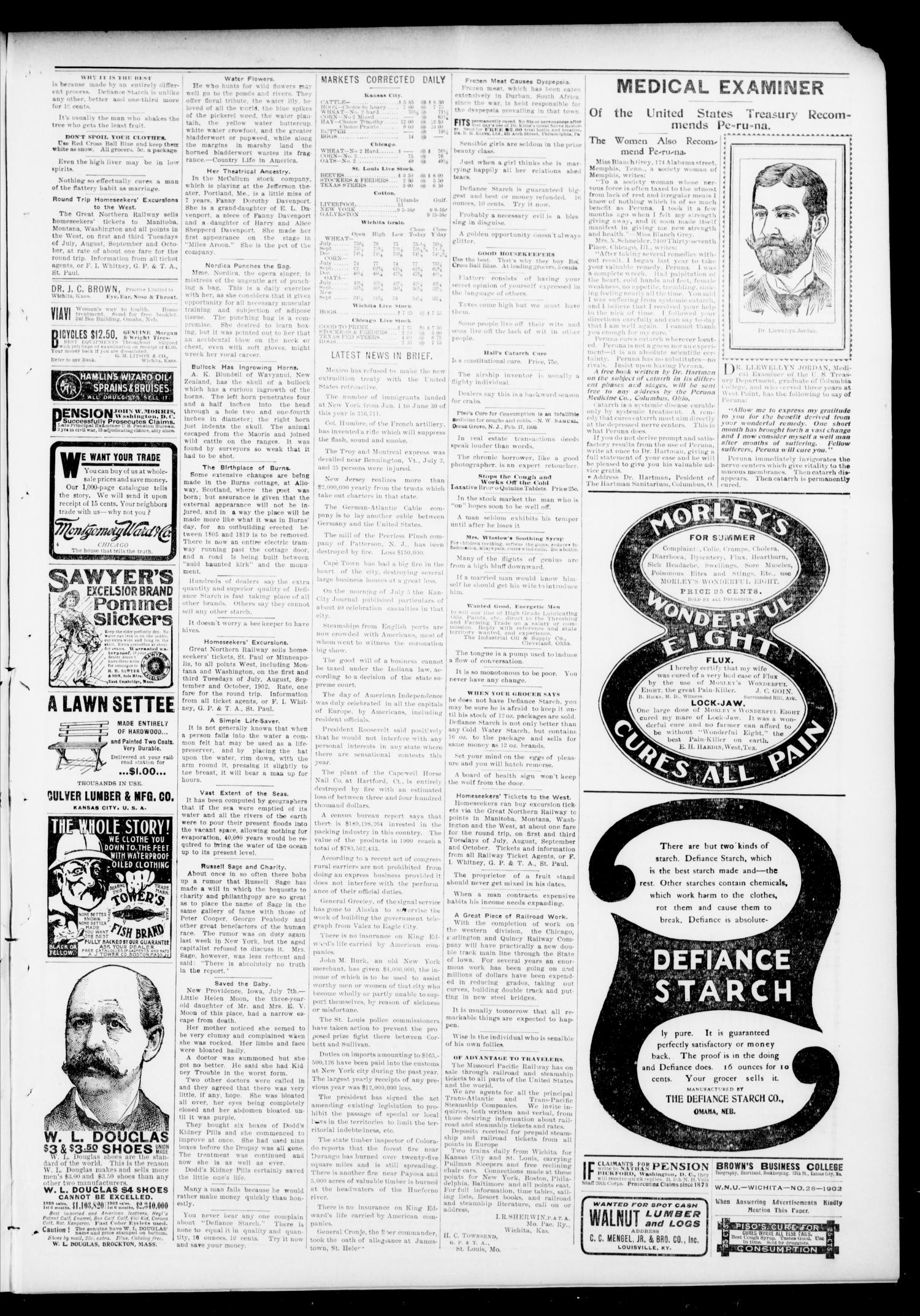 The Press-Democrat. (Hennessey, Okla.), Vol. 10, No. 41, Ed. 1 Friday, July 11, 1902                                                                                                      [Sequence #]: 3 of 8