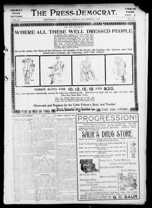 Primary view of object titled 'The Press-Democrat. (Hennessey, Okla.), Vol. 11, No. 10, Ed. 2 Friday, December 5, 1902'.