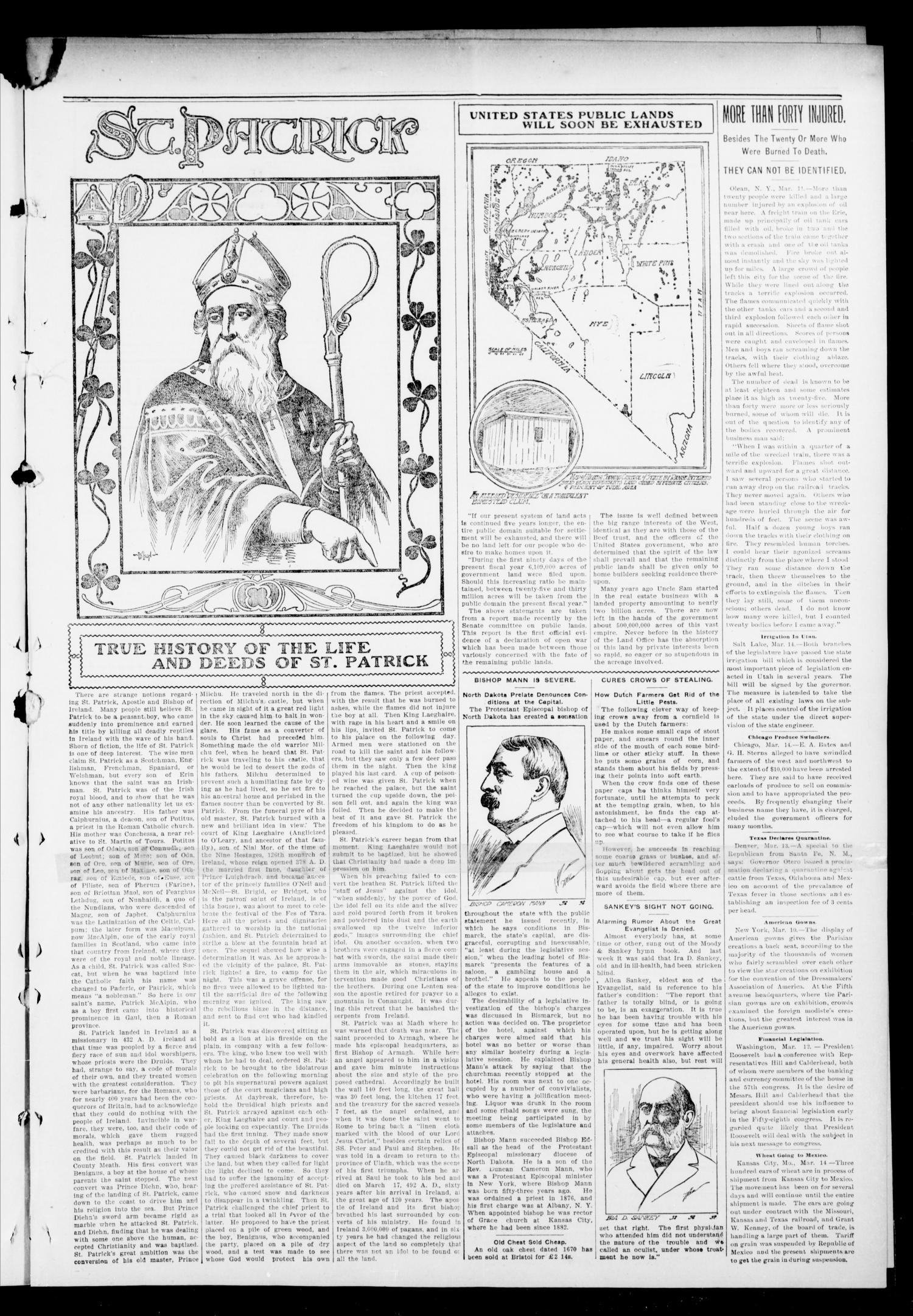 The Press-Democrat. (Hennessey, Okla.), Vol. 11, No. 25, Ed. 1 Friday, March 20, 1903                                                                                                      [Sequence #]: 3 of 8
