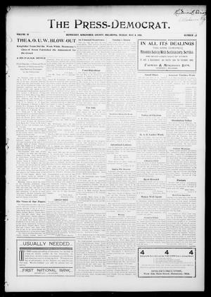 Primary view of object titled 'The Press-Democrat. (Hennessey, Okla.), Vol. 14, No. 32, Ed. 1 Friday, May 4, 1906'.