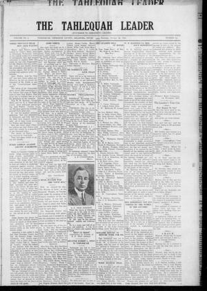 Primary view of object titled 'The Tahlequah Leader (Tahlequah, Okla.), Vol. 2, No. 22, Ed. 1 Thursday, October 26, 1922'.
