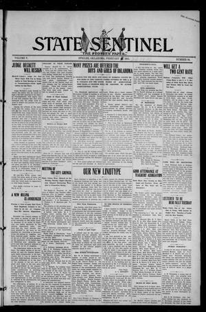 Primary view of State Sentinel (Stigler, Okla.), Vol. 5, No. 50, Ed. 1 Friday, February 24, 1911