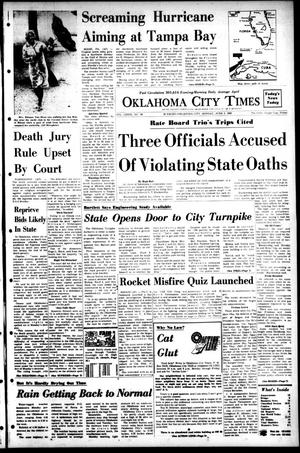 Primary view of object titled 'Oklahoma City Times (Oklahoma City, Okla.), Vol. 79, No. 90, Ed. 1 Monday, June 3, 1968'.