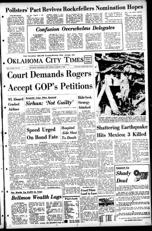 Primary view of object titled 'Oklahoma City Times (Oklahoma City, Okla.), Vol. 79, No. 142, Ed. 1 Friday, August 2, 1968'.