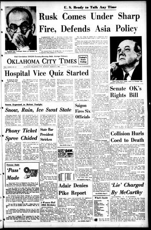 Primary view of object titled 'Oklahoma City Times (Oklahoma City, Okla.), Vol. 79, No. 18, Ed. 1 Monday, March 11, 1968'.