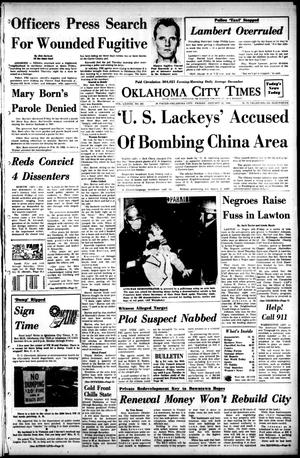 Primary view of object titled 'Oklahoma City Times (Oklahoma City, Okla.), Vol. 78, No. 281, Ed. 1 Friday, January 12, 1968'.