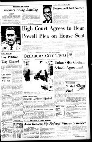 Primary view of Oklahoma City Times (Oklahoma City, Okla.), Vol. 79, No. 234, Ed. 1 Monday, November 18, 1968