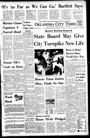Primary view of object titled 'Oklahoma City Times (Oklahoma City, Okla.), Vol. 79, No. 15, Ed. 1 Thursday, March 7, 1968'.