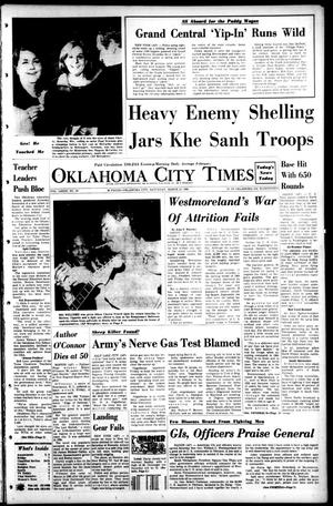 Primary view of object titled 'Oklahoma City Times (Oklahoma City, Okla.), Vol. 79, No. 29, Ed. 1 Saturday, March 23, 1968'.