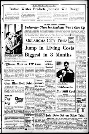 Primary view of object titled 'Oklahoma City Times (Oklahoma City, Okla.), Vol. 79, No. 58, Ed. 1 Friday, April 26, 1968'.