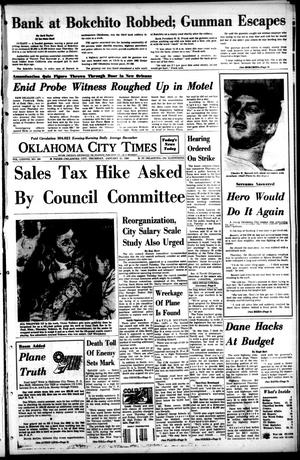 Primary view of object titled 'Oklahoma City Times (Oklahoma City, Okla.), Vol. 78, No. 280, Ed. 1 Thursday, January 11, 1968'.