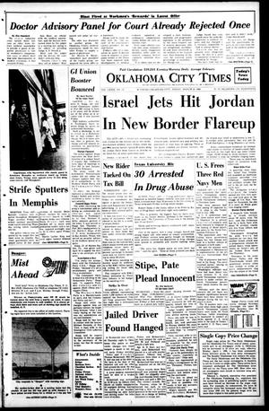 Primary view of object titled 'Oklahoma City Times (Oklahoma City, Okla.), Vol. 79, No. 34, Ed. 1 Friday, March 29, 1968'.