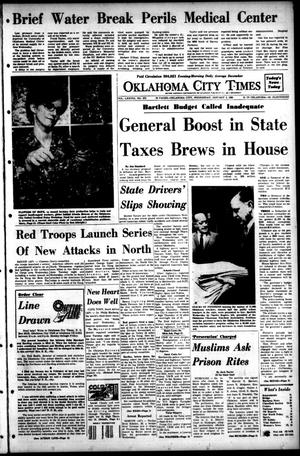 Primary view of object titled 'Oklahoma City Times (Oklahoma City, Okla.), Vol. 78, No. 273, Ed. 1 Wednesday, January 3, 1968'.