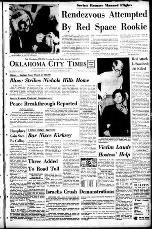 Primary view of object titled 'Oklahoma City Times (Oklahoma City, Okla.), Vol. 79, No. 215, Ed. 1 Saturday, October 26, 1968'.