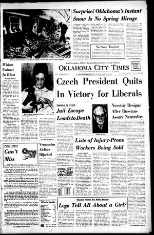 Primary view of object titled 'Oklahoma City Times (Oklahoma City, Okla.), Vol. 79, No. 28, Ed. 1 Friday, March 22, 1968'.