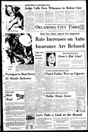 Primary view of object titled 'Oklahoma City Times (Oklahoma City, Okla.), Vol. 79, No. 154, Ed. 1 Friday, August 16, 1968'.