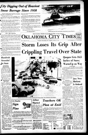 Primary view of object titled 'Oklahoma City Times (Oklahoma City, Okla.), Vol. 79, No. 19, Ed. 1 Tuesday, March 12, 1968'.