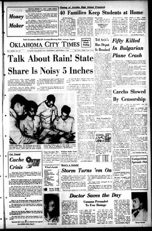 Primary view of object titled 'Oklahoma City Times (Oklahoma City, Okla.), Vol. 79, No. 170, Ed. 1 Wednesday, September 4, 1968'.