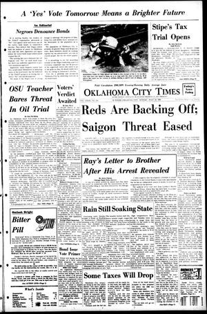 Primary view of object titled 'Oklahoma City Times (Oklahoma City, Okla.), Vol. 79, No. 126, Ed. 1 Monday, July 15, 1968'.