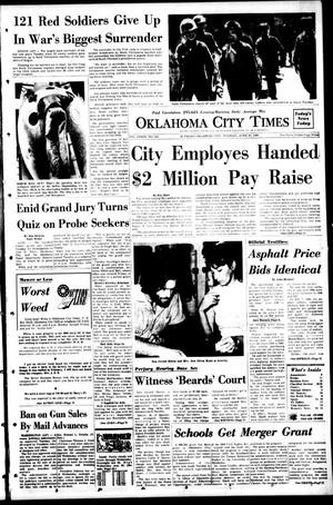 Primary view of object titled 'Oklahoma City Times (Oklahoma City, Okla.), Vol. 79, No. 103, Ed. 1 Tuesday, June 18, 1968'.