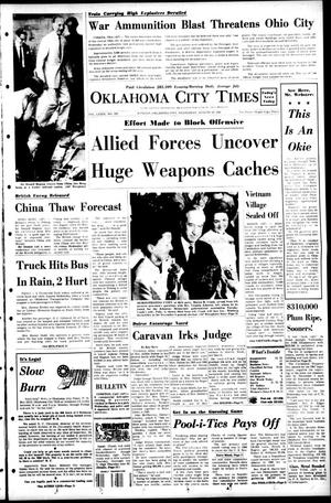 Primary view of Oklahoma City Times (Oklahoma City, Okla.), Vol. 79, No. 152, Ed. 1 Wednesday, August 14, 1968