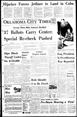 Primary view of object titled 'Oklahoma City Times (Oklahoma City, Okla.), Vol. 79, No. 128, Ed. 1 Wednesday, July 17, 1968'.