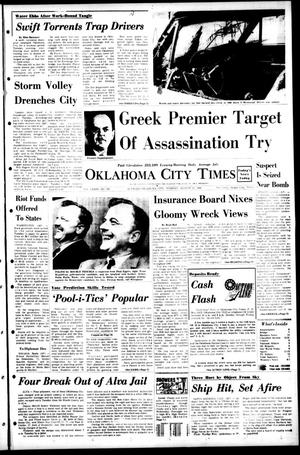 Primary view of object titled 'Oklahoma City Times (Oklahoma City, Okla.), Vol. 79, No. 151, Ed. 1 Tuesday, August 13, 1968'.